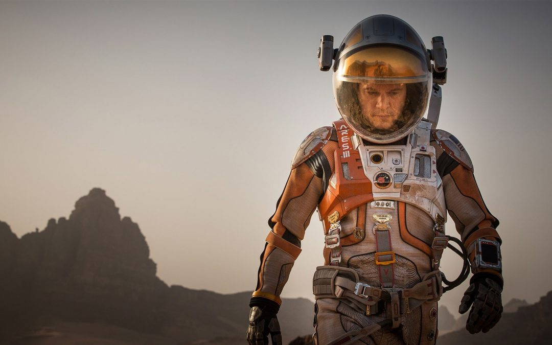 'The Martian' Science-Fiction Movie of the Year?