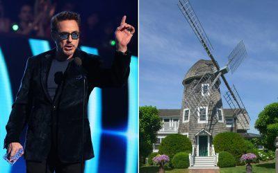 Robert Downey Jr. Buys $10.5M Windmill Conversion