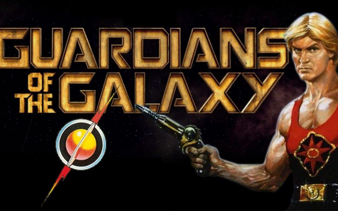 'Flash Gordon' vs the 'Guardians of the Galaxy' similarity