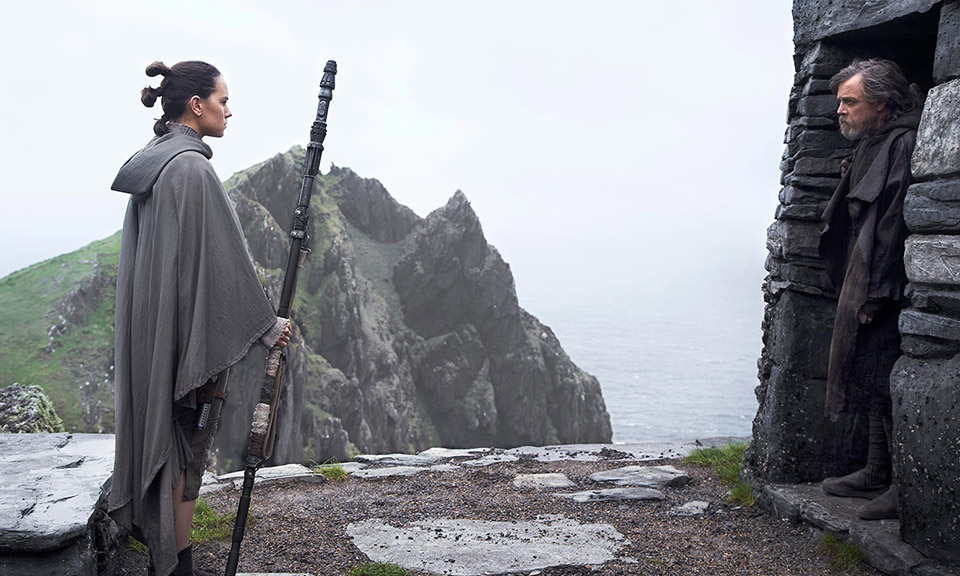 'Star Wars: The Last Jedi' Cast Addresses Han Solo's Death and New  Characters