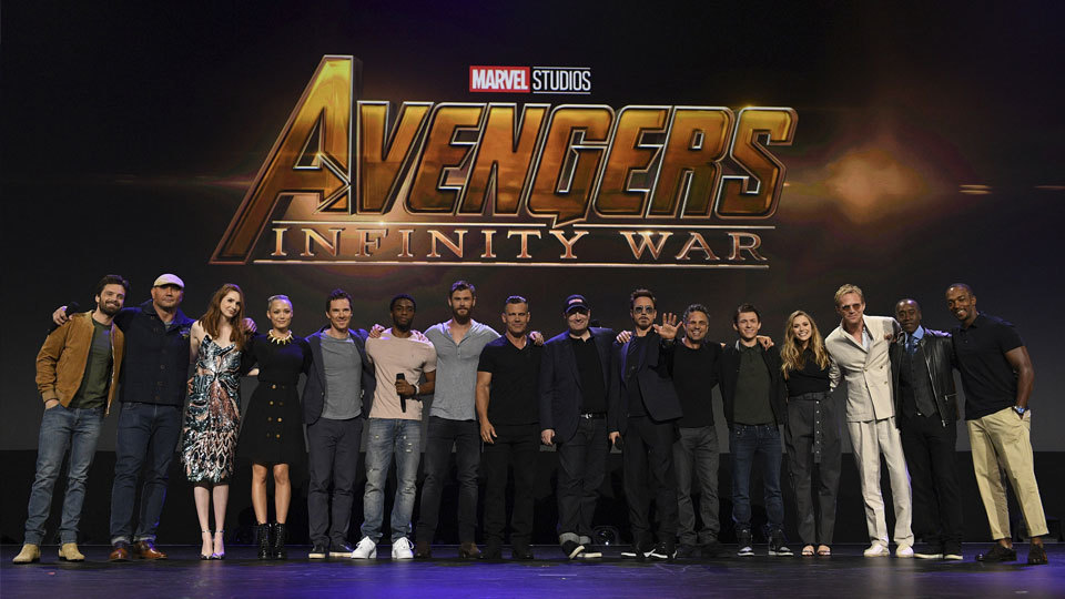 "Disney-Marvel's ""Avengers: Infinity War"" dominates social media buzz"