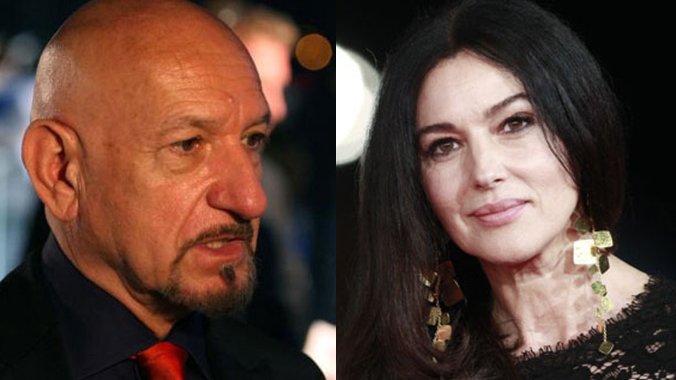 "Oscar-winning actor Ben Kingsley  and Monica Bellucci will co-star in ""Spider in the Web,"""