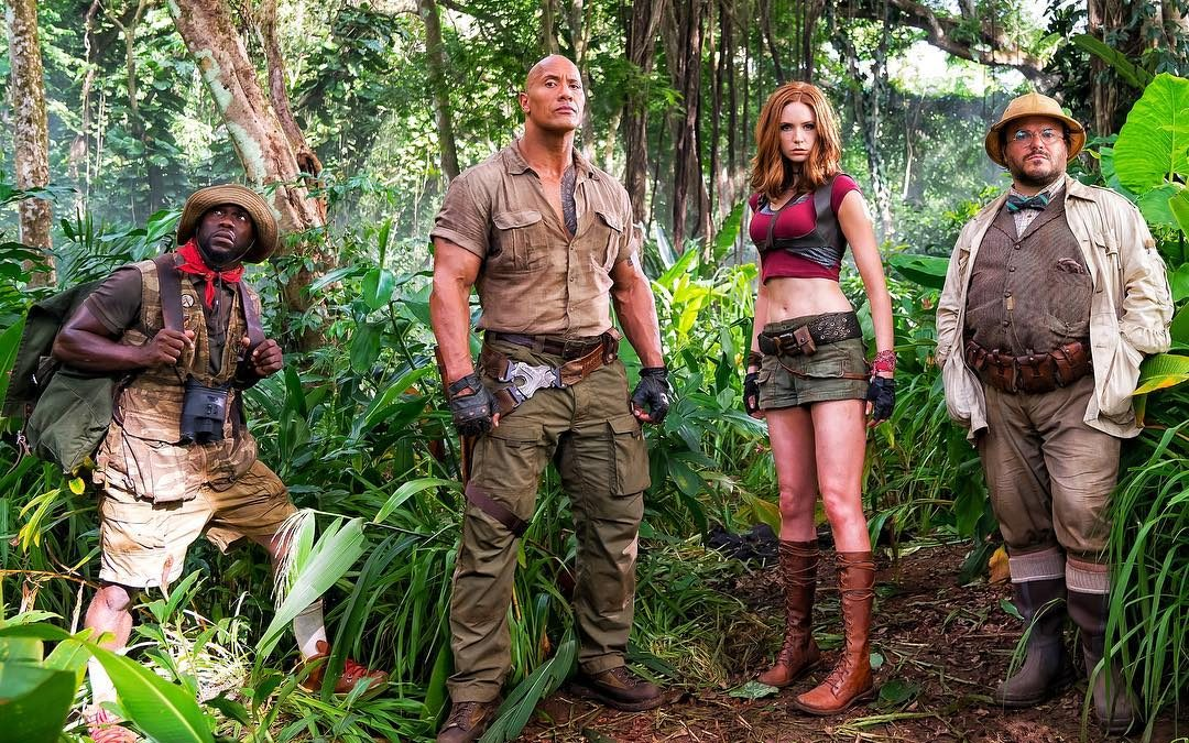 Jumanji' shoots ahead Star Wars'The Last Jedi' at the box office