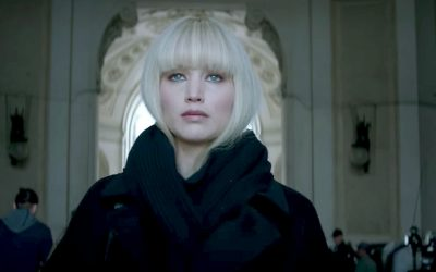 "Fox's new trailer for ""Red Sparrow,"" stars Jennifer Lawrence as an icy spy."