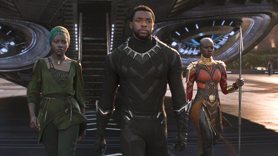 "Disney-Marvel's ""Black Panther"" is heading to dominate the box office again for it's third week"