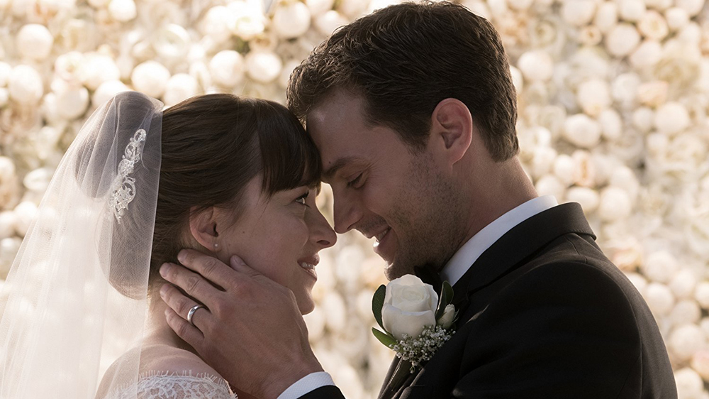 "Universal's opening of ""Fifty Shades Freed"" should heat up moviegoing at  $33 million"
