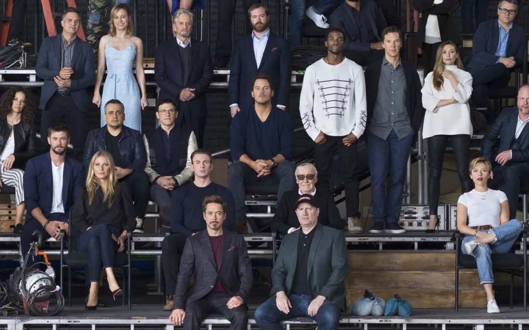 Marvel Studios brought together 80 of its stars and filmmakers for one picture in honor of its 10-year anniversary.