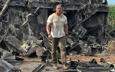 """Warner Bros. moves up  """"Rampage"""" from April 20 to April 13."""