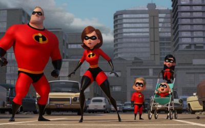 "Elastigirl is front and center in the new trailer for Disney-Pixar's ""Incredibles 2"
