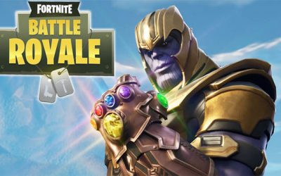 "Thanos Has Made His Way to ""Fortnite"""