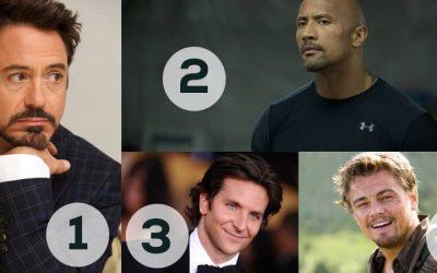 Revealed: Movie Stars salaries Including Leonardo Di Caprio, Jennifer Lawrence and More