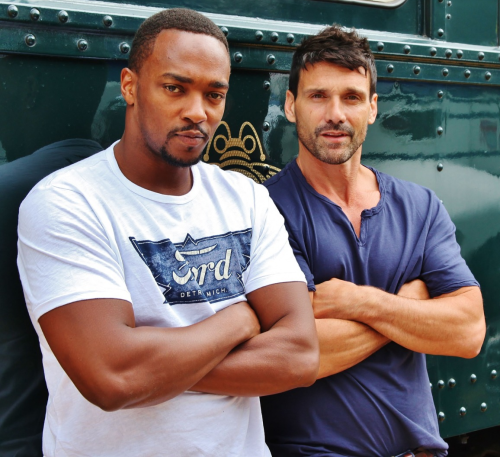 Frank Grillo, Anthony Mackie Reunite in 'Point Blank' Remake