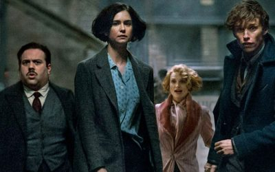 J.K. Rowling Already Working on 'Fantastic Beasts 3' Screenplay