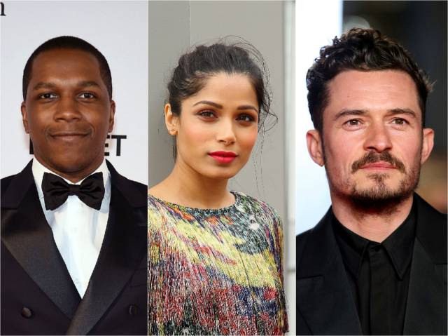 Orlando Bloom, Freida Pinto, Leslie Odom Jr. To Star in Time-Travel Drama 'Needle in a Timestack'