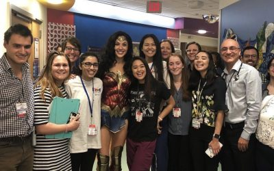 Gal Gadot Visits Children's Hospital in Wonder Woman Costume