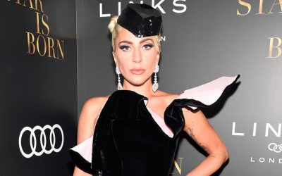 Lady Gaga Gets Emotional on 'A Star Is Born' Red Carpet