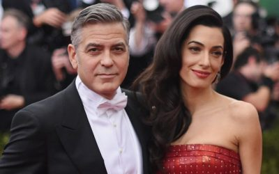 George and Amal Clooney set to become Prince Harry and Meghan's first-born child's godparents