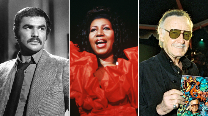 Movie, TV and Music Stars We Lost in 2018