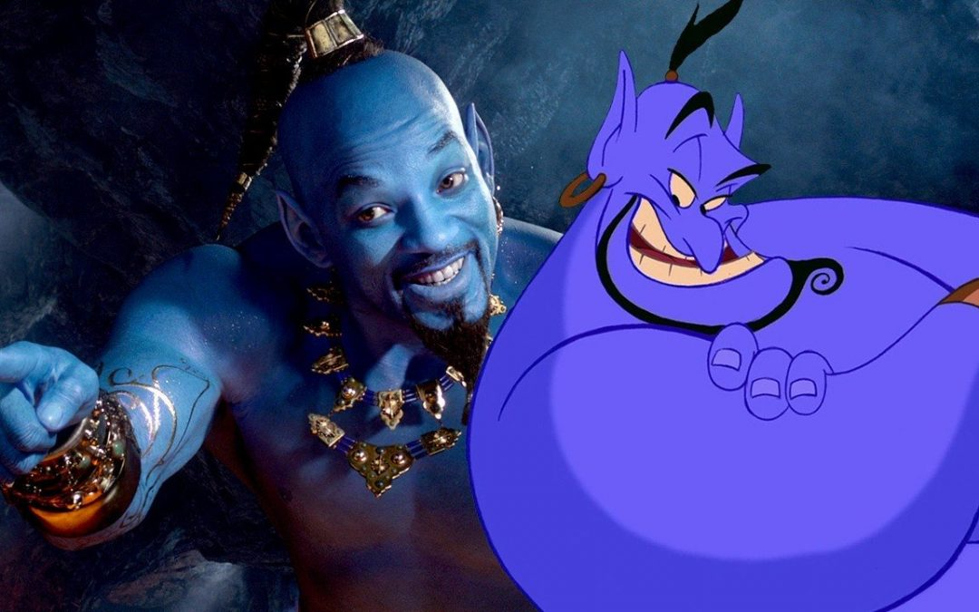 New 'Aladdin' Trailer Reveals First Look at Will Smith as Genie