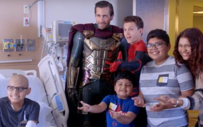 'Spider-Man: Far From Home' Cast Pay Visit to Children's Hospital in Los Angeles