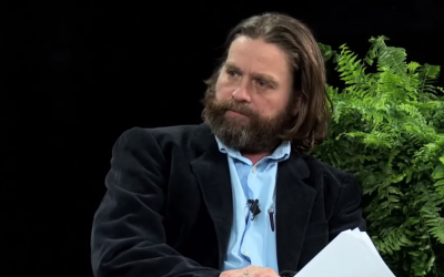 Zach Galifianakis On the Road talk Show in 'Between Two Ferns: The Movie' Trailer