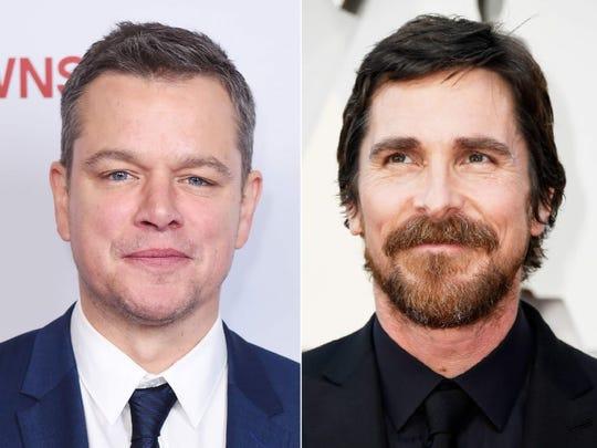 Christian Bale, Matt Damon to push for Lead Actor Category for 'Ford v Ferrari'