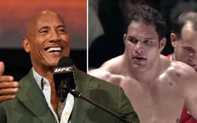Dwayne Johnson to Produce and Star in Movie About UFC 's Mark Kerr