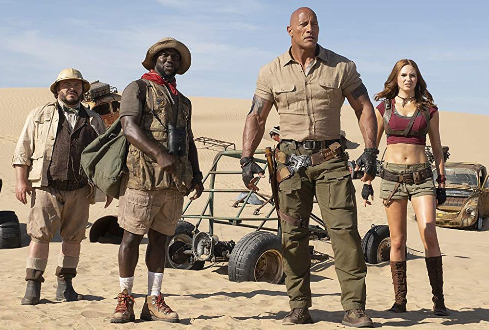 Jumanji 2' Starts Strong With $60 Million Debut as 'Richard Jewell' Stumbles