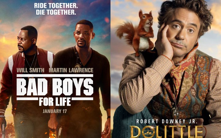 Weekend Box Office: 'Bad Boys for Life' Wins, Dolittle Dissapoints