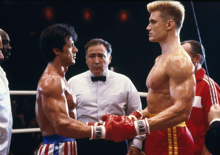 'Rocky IV' at 35: Sylvester Stallone Was Hospitalized After a Dolph Lundgren Punch Actually Connected
